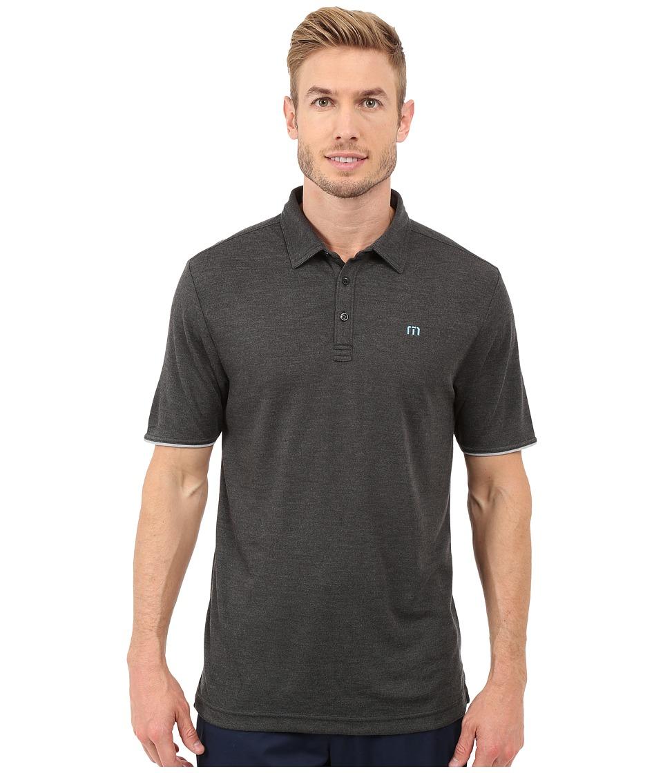 TravisMathew - Meehan Top (Castlerock) Men's Short Sleeve Knit
