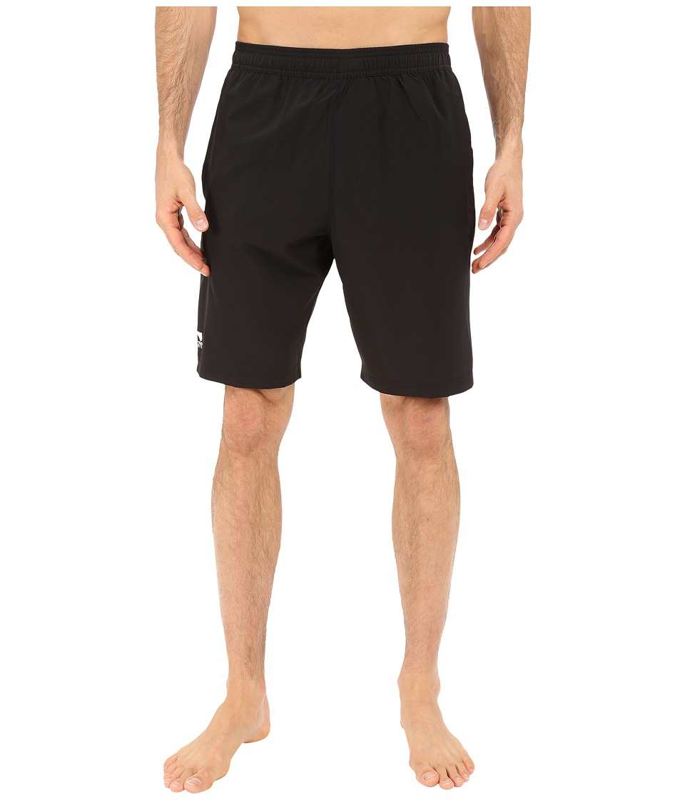 TYR - Solid Lake Front Land to Water Shorts (Black) Men's Shorts