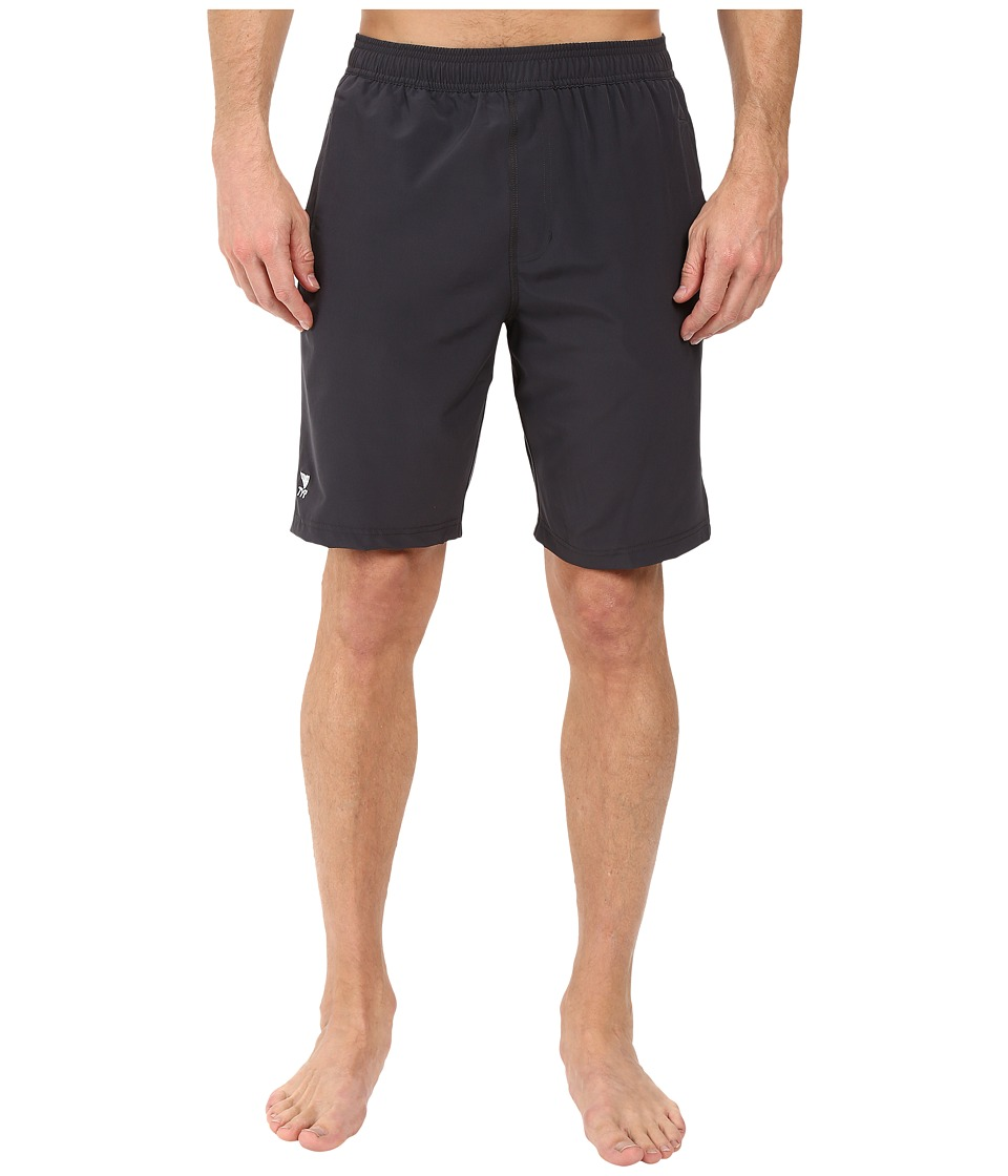 TYR - Solid Lake Front Land to Water Shorts (Slate) Men's Shorts