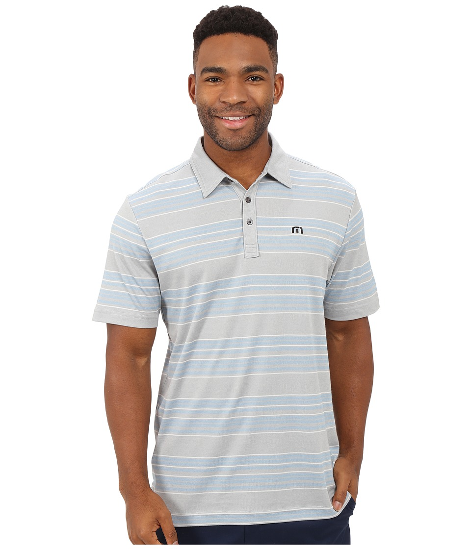 TravisMathew - Peli Top (Heather Griffin) Men's Short Sleeve Knit