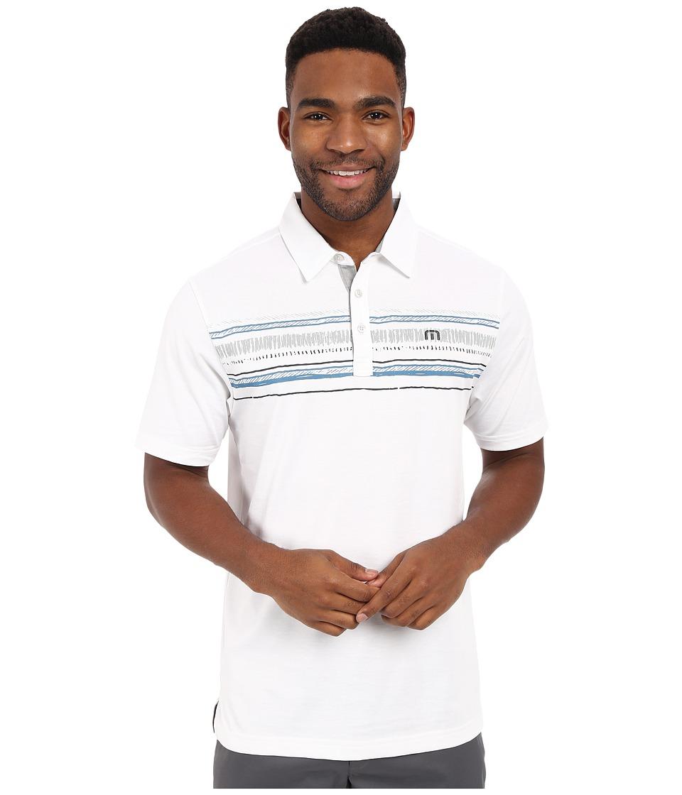 TravisMathew - Fakie Top (White) Men's Short Sleeve Knit