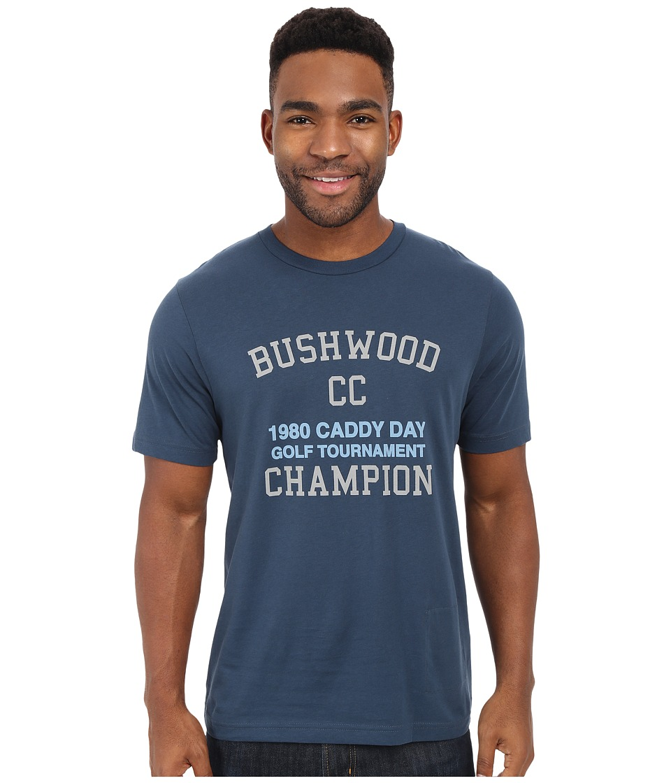 TravisMathew - Bushwood T-Shirt (Dark Blue Grey) Men's T Shirt