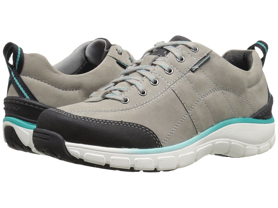 Clarks - Wave.Trek (Grey Nubuck) Women's Lace up casual Shoes