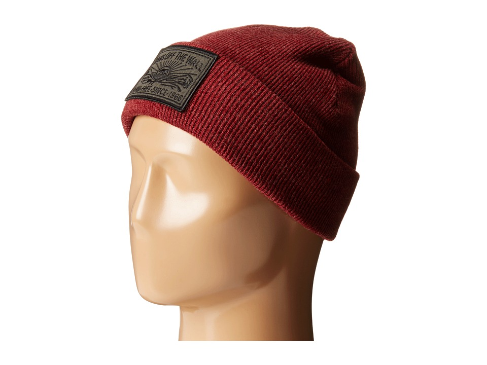 Vans - Adare Beanie (Bordeaux Heather) Beanies
