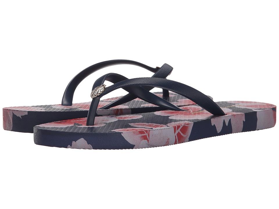 Tommy Bahama - Whykiki Floating Hibiscus (Ocean Deep) Women's Sandals