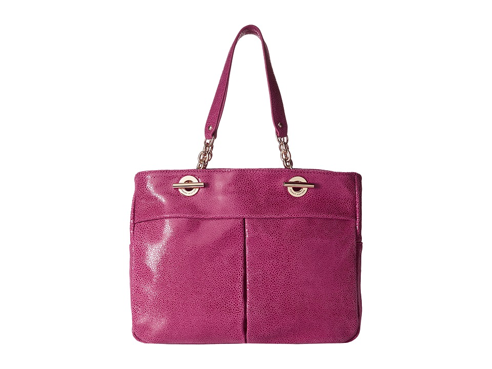 Tommy Hilfiger - Audrey Shopper (Raspberry) Tote Handbags