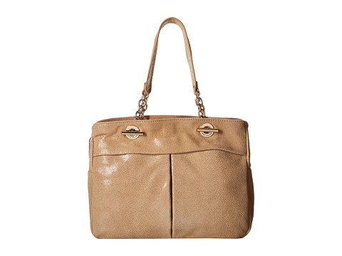 Tommy Hilfiger - Audrey Shopper (Sand) Tote Handbags