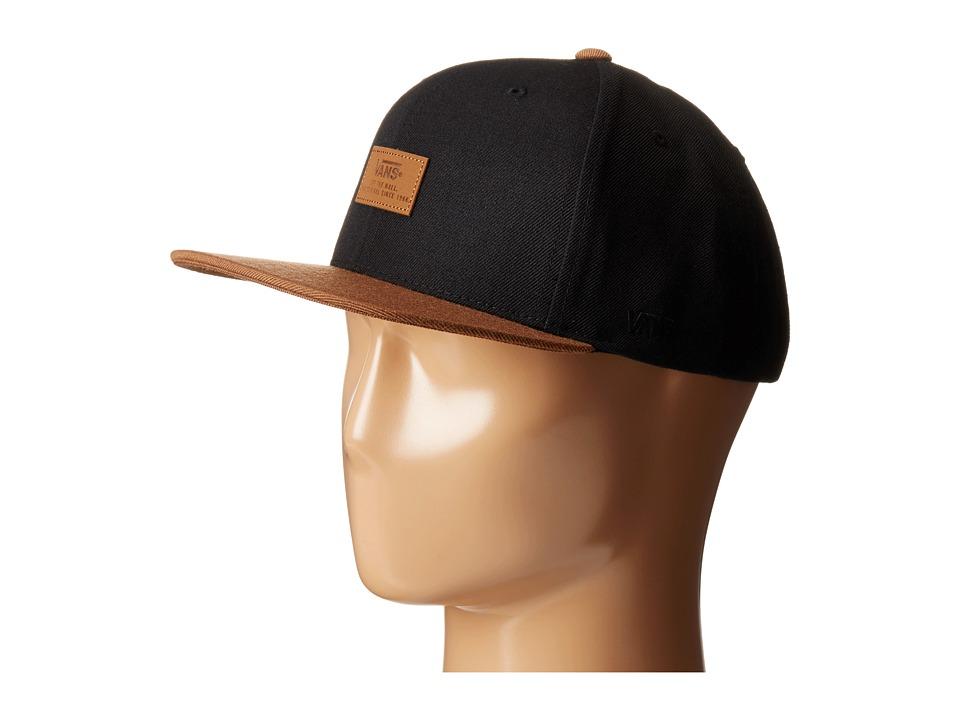Vans - Blackout Starter Cap II (Black/Tortoise) Caps
