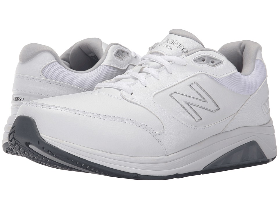 New Balance - MW928v2 (White) Men's Walking Shoes