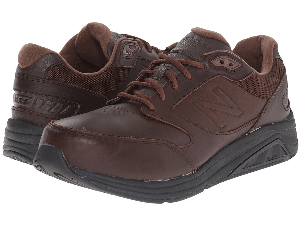 New Balance - MW928v2 (Brown) Men's Walking Shoes