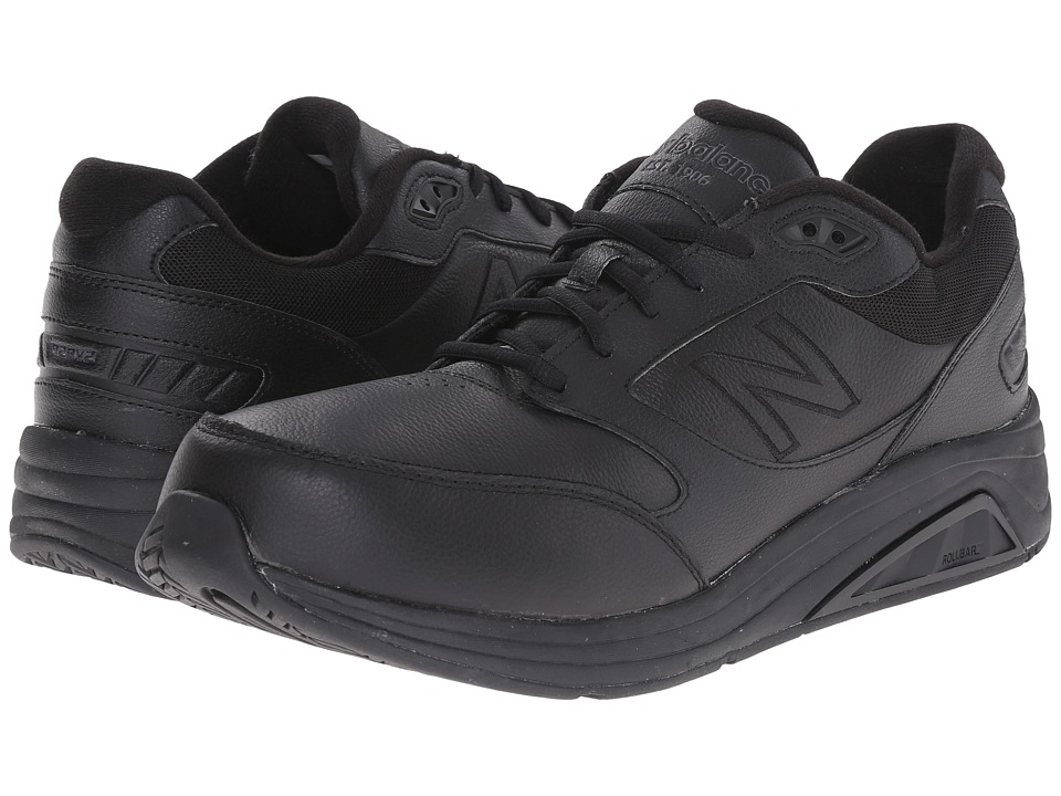 New Balance - MW928v2 (Black) Men's Walking Shoes