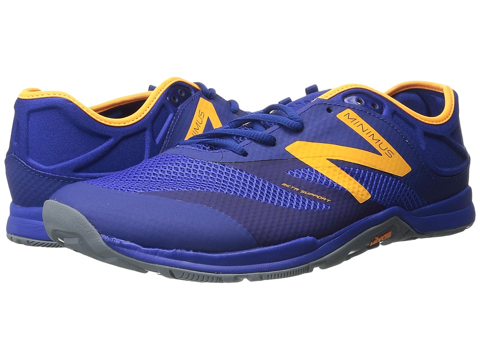 New Balance - MX20v5 (Blue/Orange) Men's Shoes