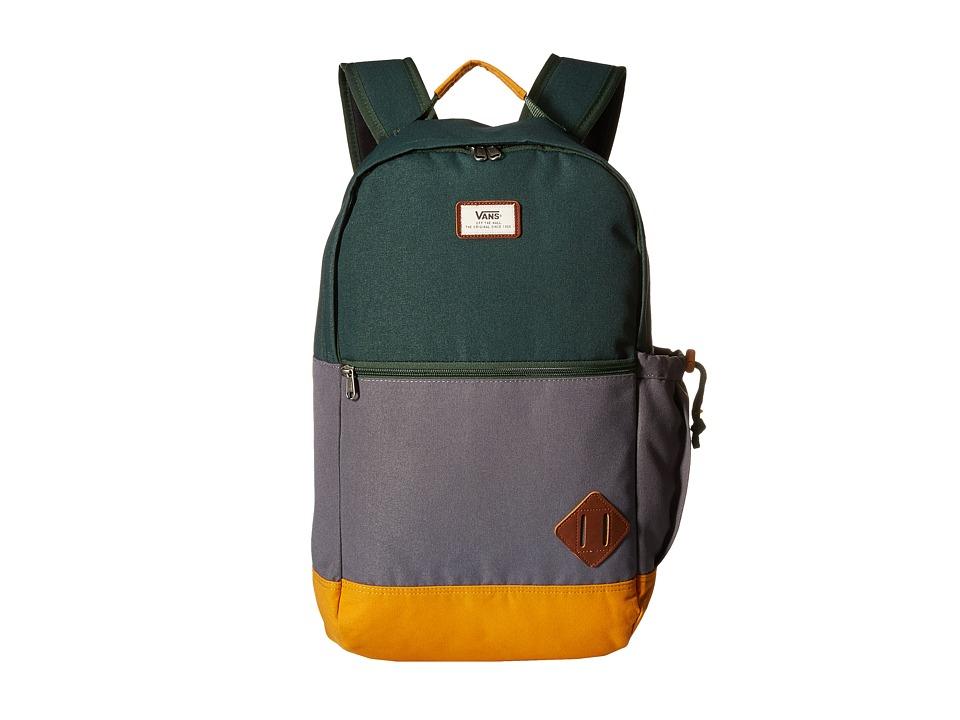 Vans - Van Doren II Backpack (Sycamore Colorblock) Backpack Bags