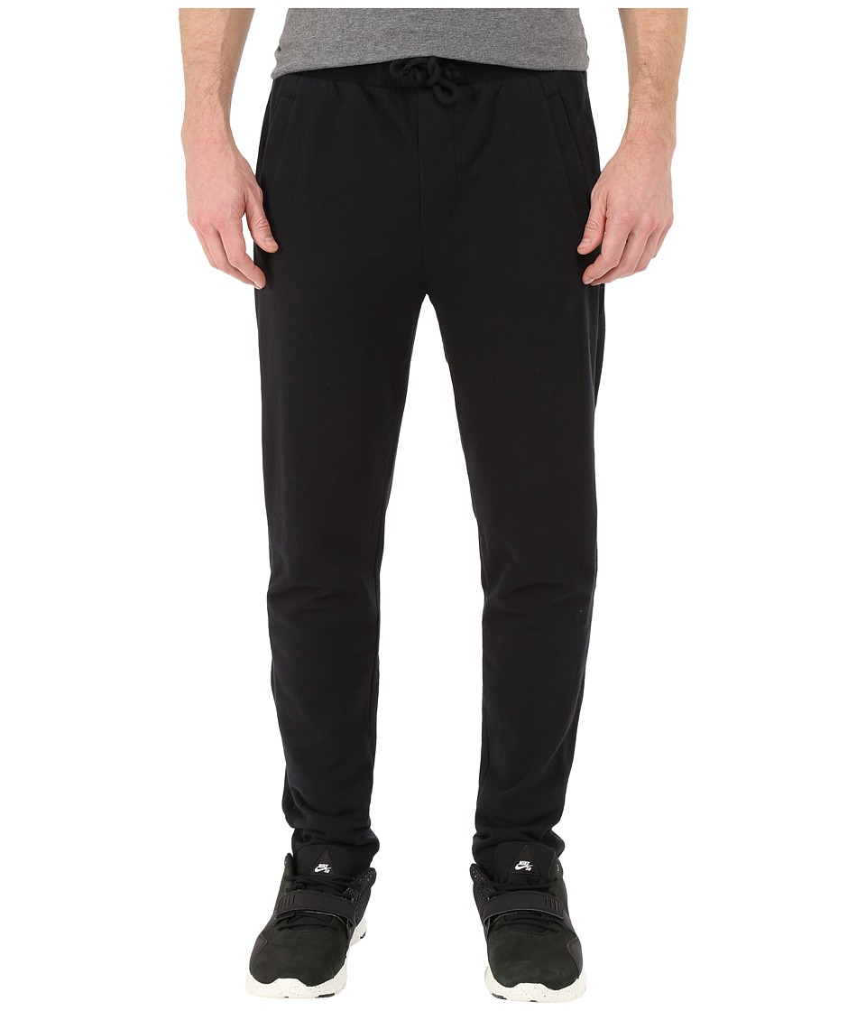Alternative - Eco Micro Fleece Tuxedo Pants (Black) Men's Casual Pants