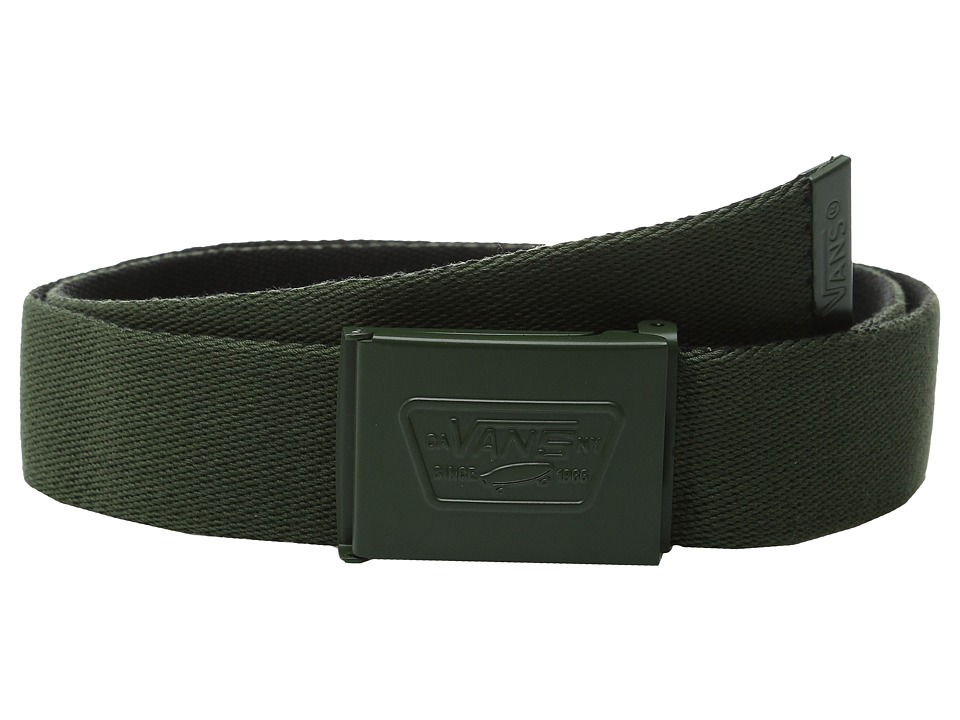 Vans - Knox Web Belt (Surplus Green/Black) Men