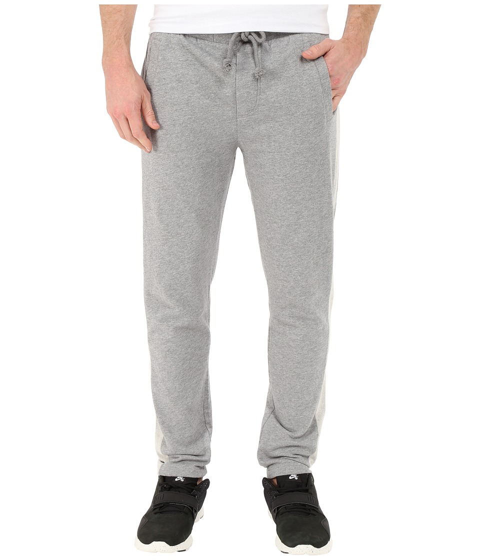 Alternative - Eco Micro Fleece Tuxedo Pants (Heather Grey) Men's Casual Pants