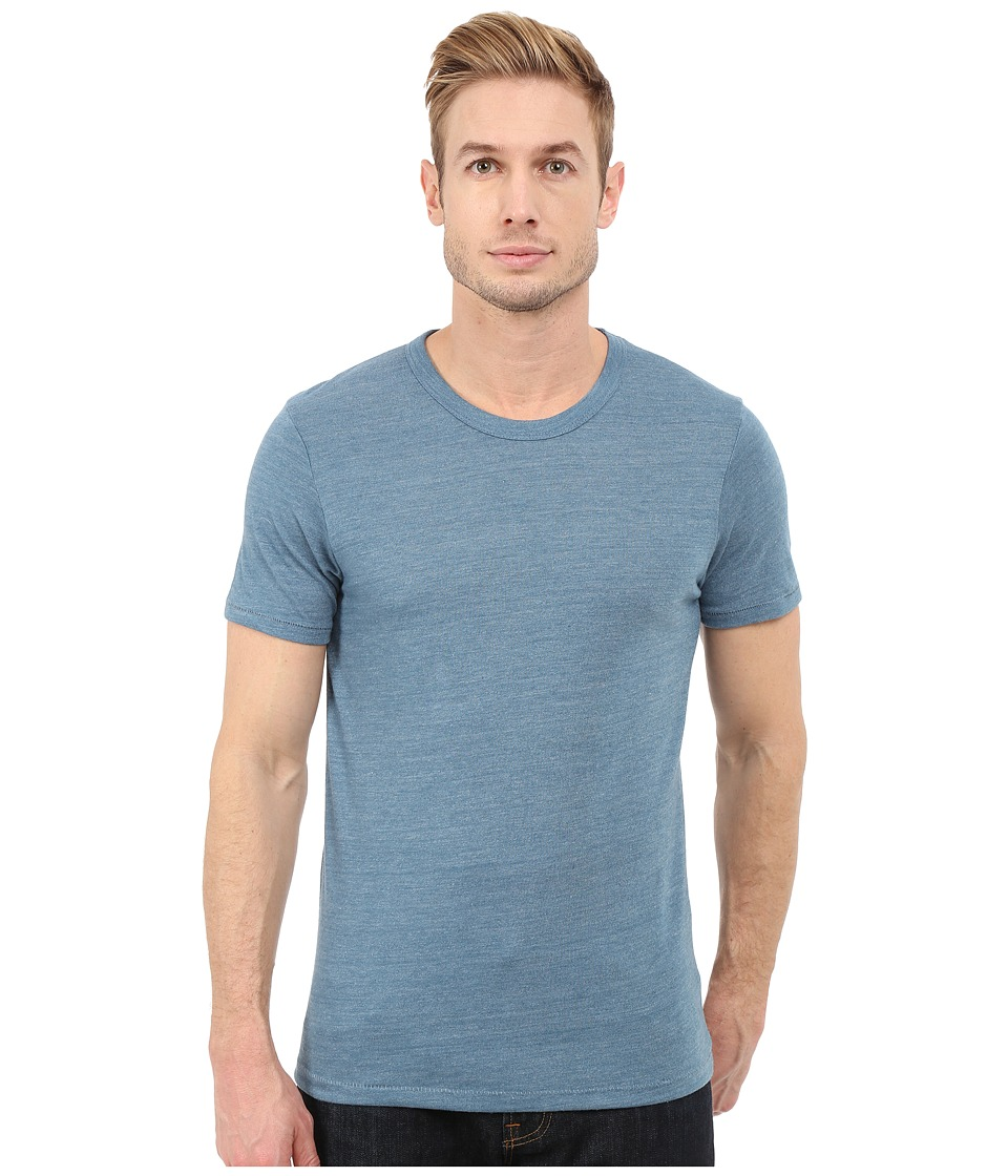 Alternative - Eco Crew T-Shirt (Eco True Blue Ash) Men's T Shirt