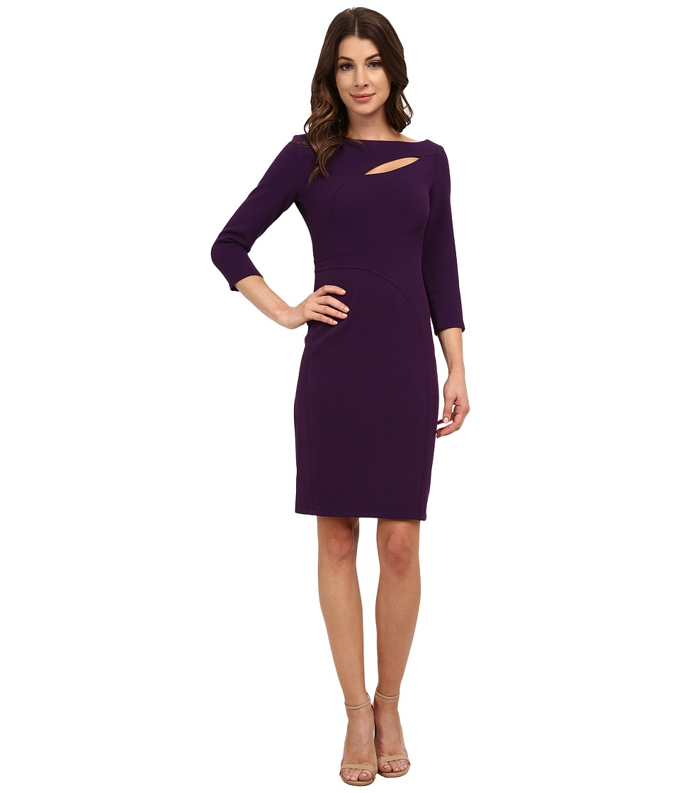 Anne Klein Crepe Cutout Sheath Dress