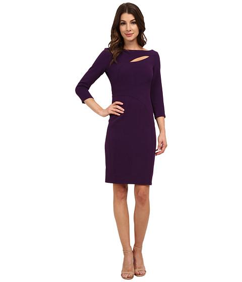 Anne Klein - Crepe Cutout Sheath Dress (Phoenix) Women