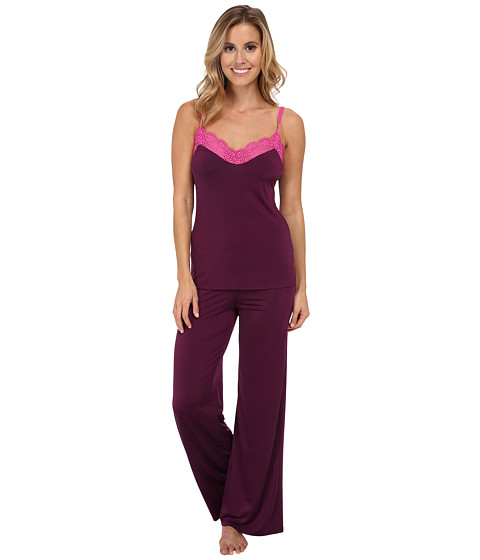 Josie - Slinky Basics PJ (Plum Purple/Orchid Lace) Women