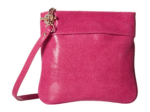 Tommy Hilfiger - Audrey North/South Crossbody (Raspberry) Cross Body Handbags