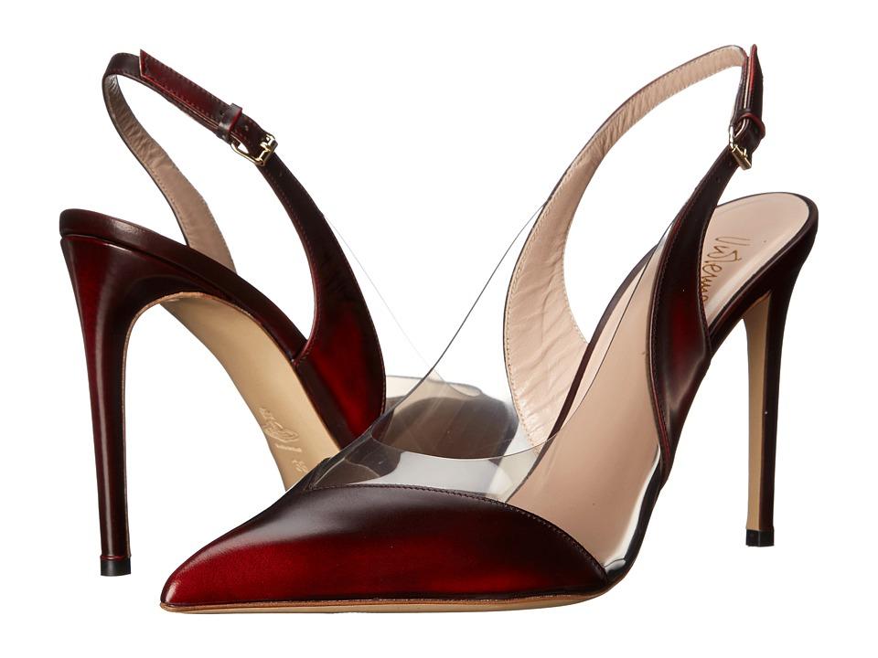 Vivienne Westwood Caruska Slingback (Red/Smokey) High Heels
