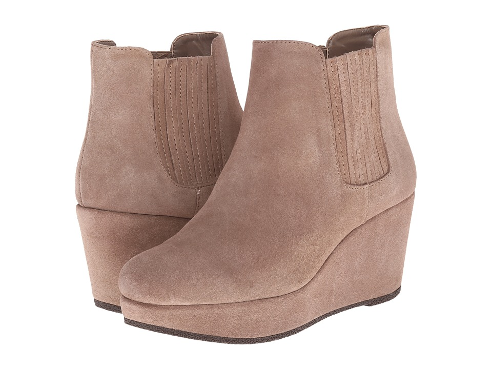 BCBGeneration - Karol (Taupe Oil Calf Suede) Women