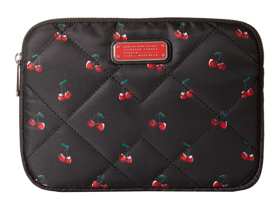 Marc by Marc Jacobs - Crosby Quilt Fruit Tech Mini Tablet Case (Cherry Print) Computer Bags