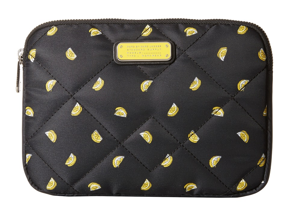 Marc by Marc Jacobs - Crosby Quilt Fruit Tech Mini Tablet Case (Lemon Print) Computer Bags