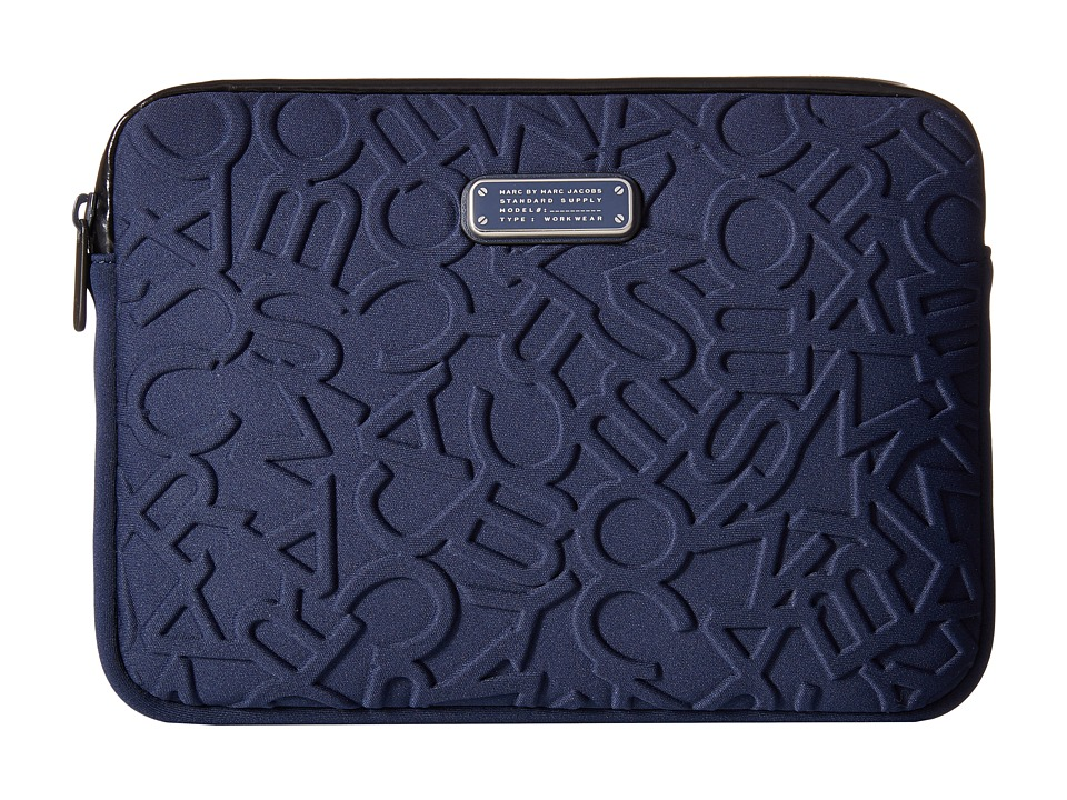 Marc by Marc Jacobs - Scrambled Logo Neoprene Tablet Case (Amalfi Coast) Computer Bags