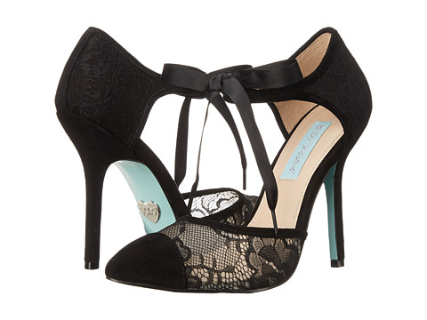 Blue by Betsey Johnson - Reese (Black Lace) High Heels