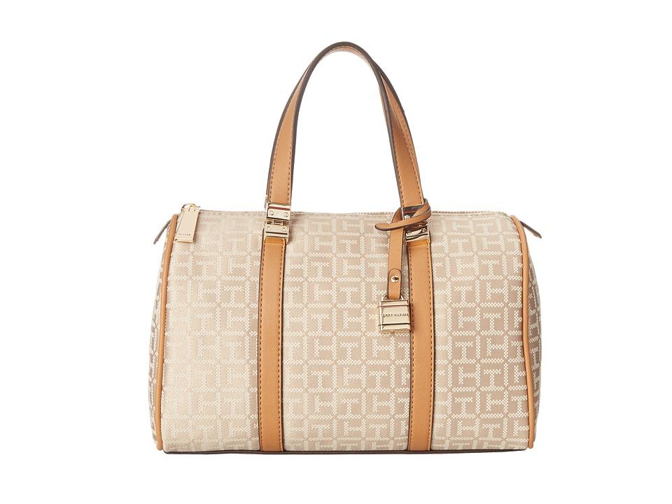 Tommy Hilfiger - TH Satchel (Khaki Tonal) Satchel Handbags