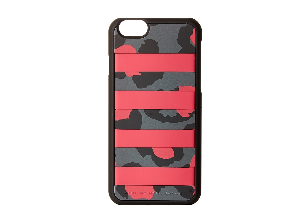 Marc by Marc Jacobs - Phone Cases Card Slot Divine Leopard Phone 6 Case (Raspberry Sorbet Multi) Cell Phone Case