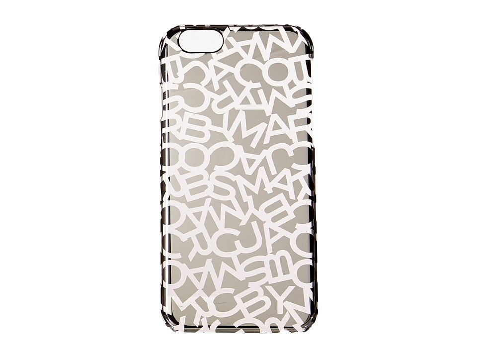 Marc by Marc Jacobs - Scrambled Logo Phone 6 Case Metallic (Shiny Nickel) Cell Phone Case