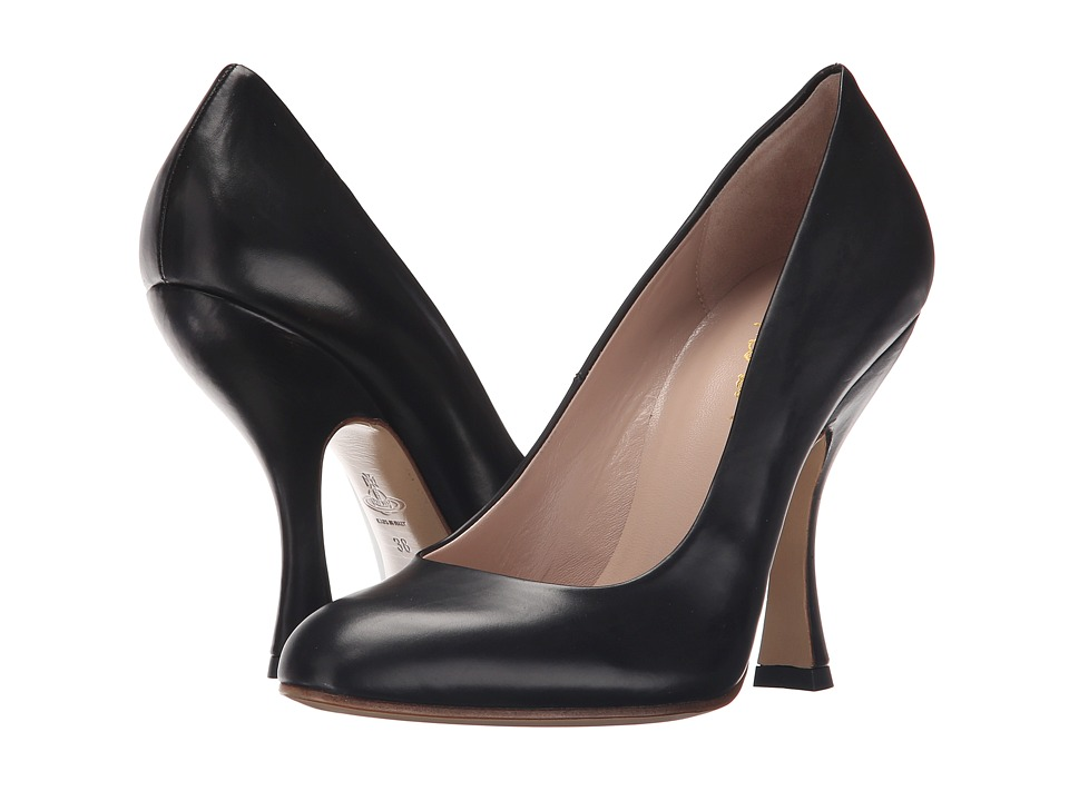 Vivienne Westwood - Olly Court Shoe (Black) Women's Shoes
