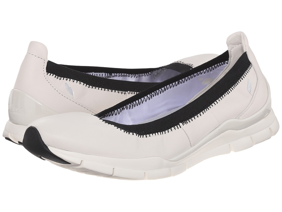 Geox - WSUKIE9 (Off-White) Women's Shoes