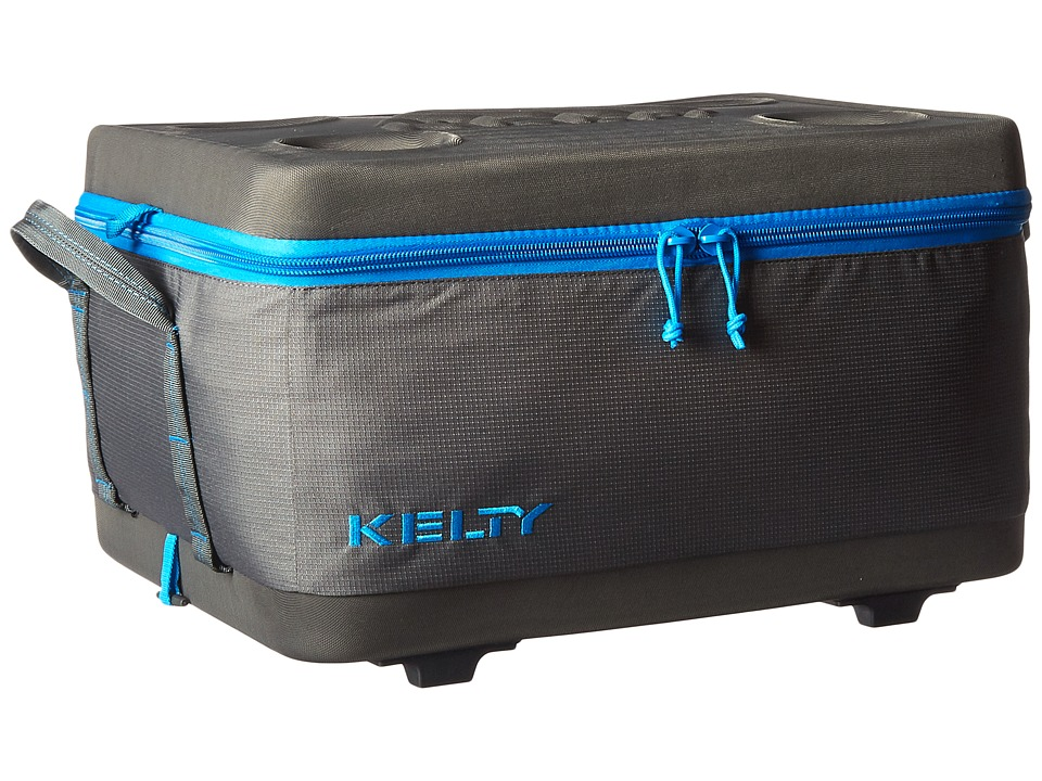 Kelty - Folding Cooler - Large (Smoke/Paradise Blue) Outdoor Sports Equipment