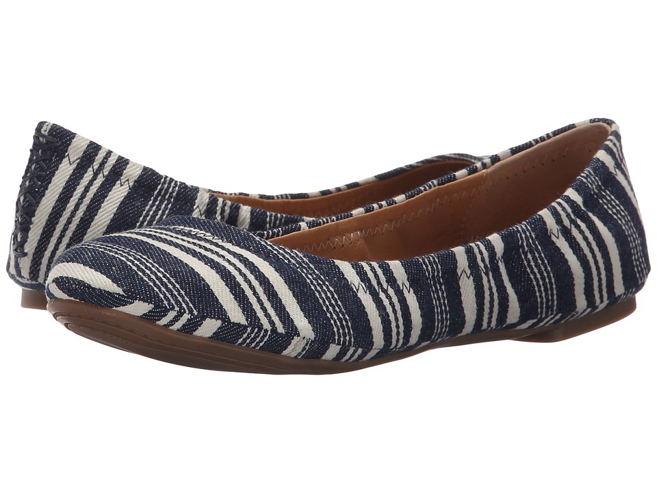 Lucky Brand - Emmie (Indigo 2) Women's Flat Shoes