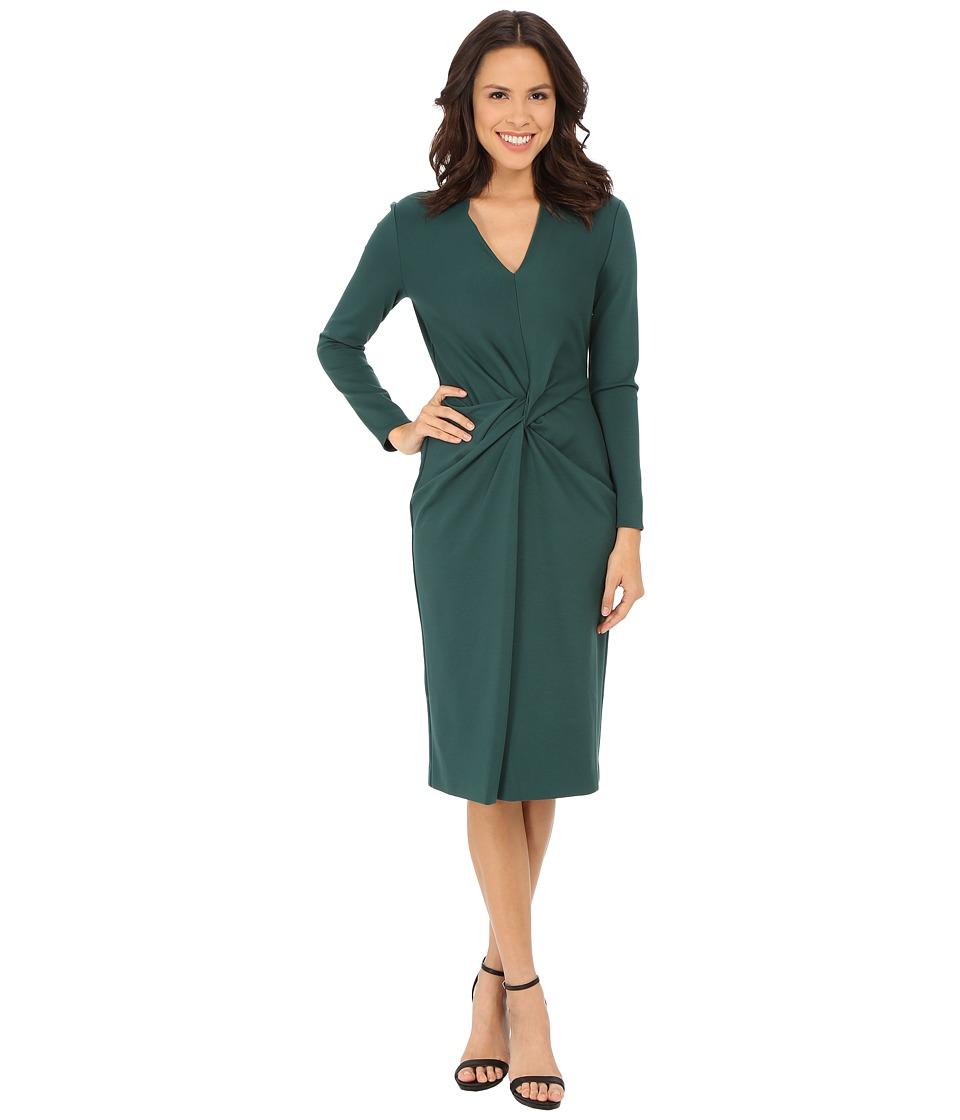 Anne Klein - Milano Knit Twist Front Dress (Manet) Women's Dress