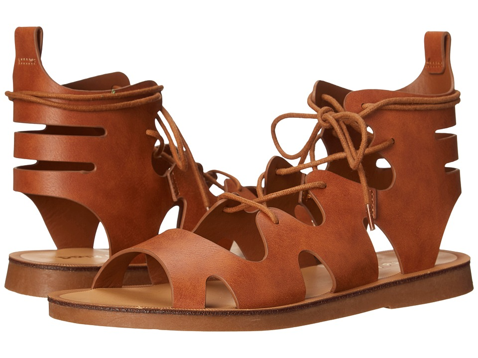 Dirty Laundry - Bevelled Lace Up Sandal (Tan) Women's Sandals