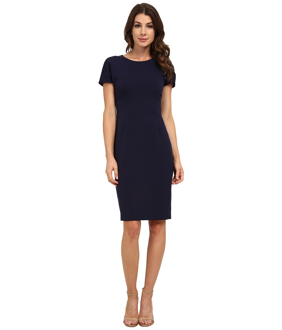Anne Klein - Topstitch Cap Sleeve Dress (Atlas Blue) Women's Dress