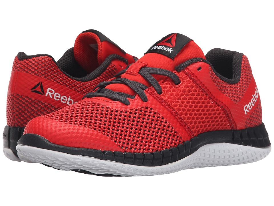 Reebok Kids - Zprint Run (Little Kid/Big Kid) (Motor Red/Triathlon Red/White/Coal) Boys Shoes