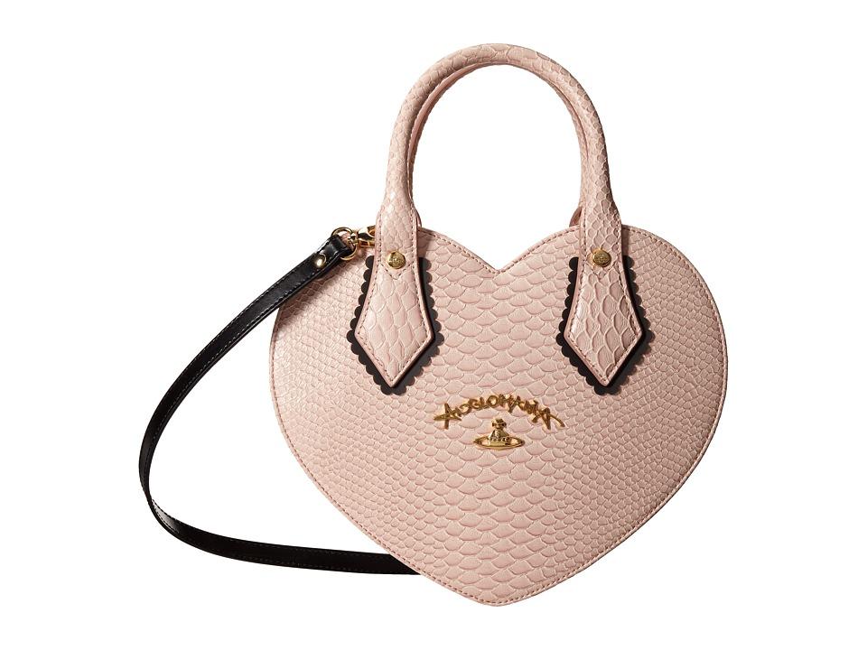 Vivienne Westwood - Braccialini Frilly Snake Bag (Pink) Handbags