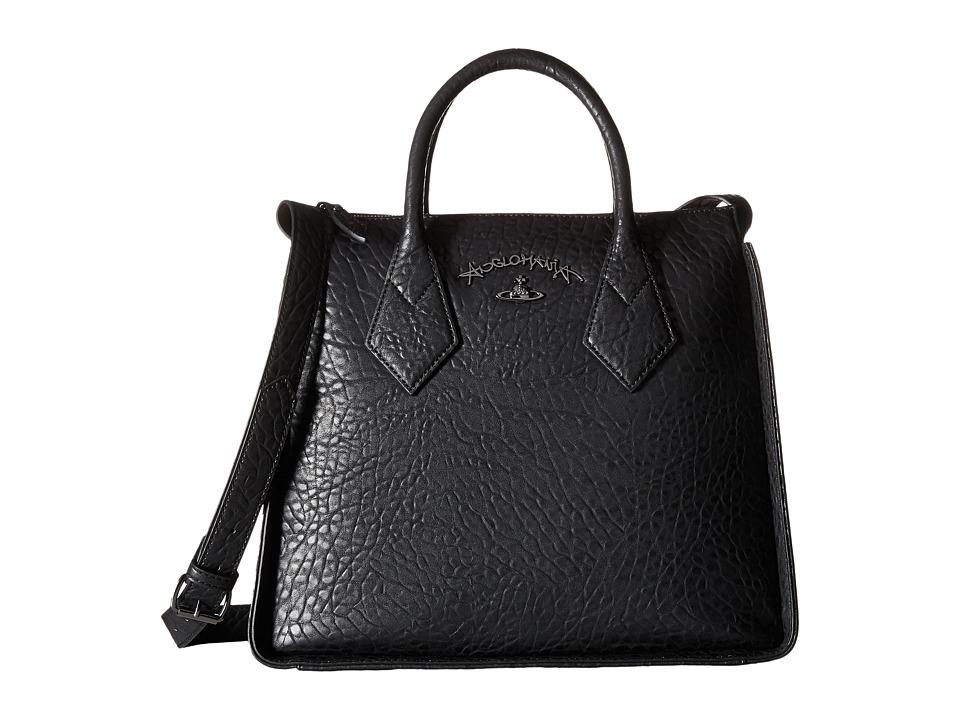 Vivienne Westwood - Braccialini Melomania Bags Shopping (Black) Satchel Handbags