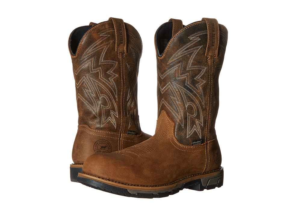Irish Setter - Marshall (Brown 1) Men's Work Pull-on Boots