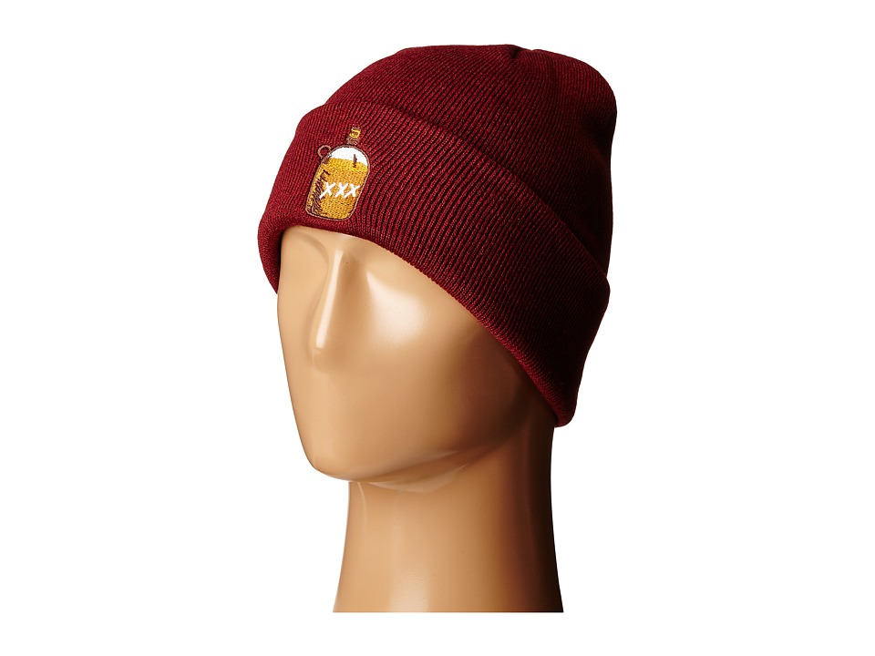 Coal - The Crave (Burgundy (Booze)) Beanies