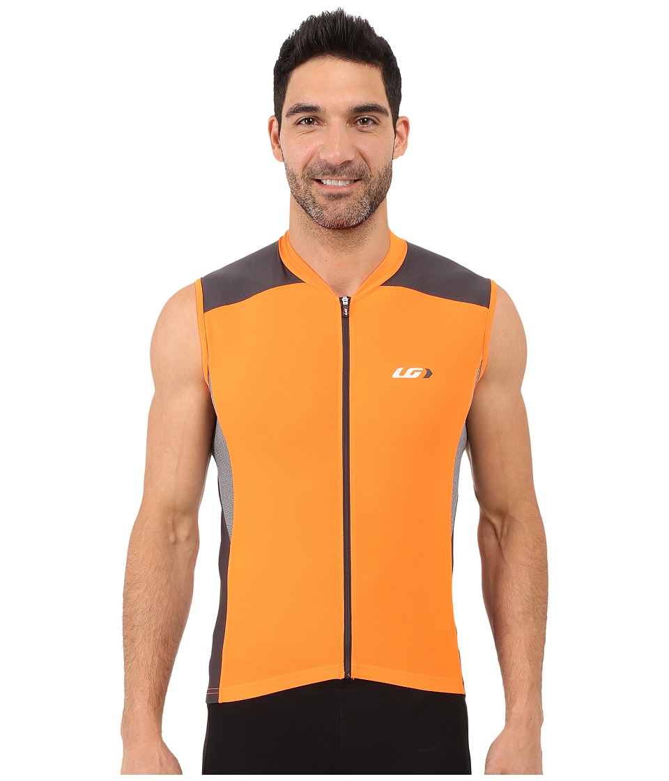 Louis Garneau - Mistral Vent Sleeveless Jersey (Orange Fluo) Men's Workout