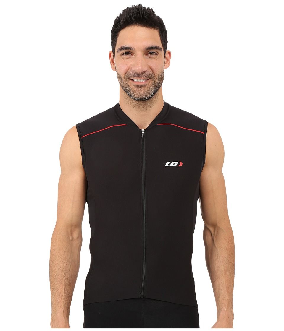 Louis Garneau - Mistral Vent Sleeveless Jersey (Black/Red) Men's Workout