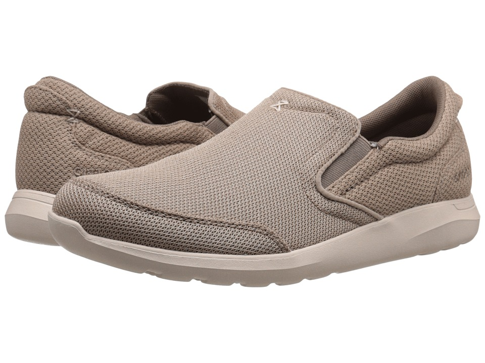 Crocs - Kinsale Mesh Slip-On (Khaki/Stucco) Men