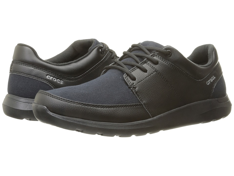Crocs - Kinsale Lace-Up (Black/Black) Men's Lace up casual Shoes